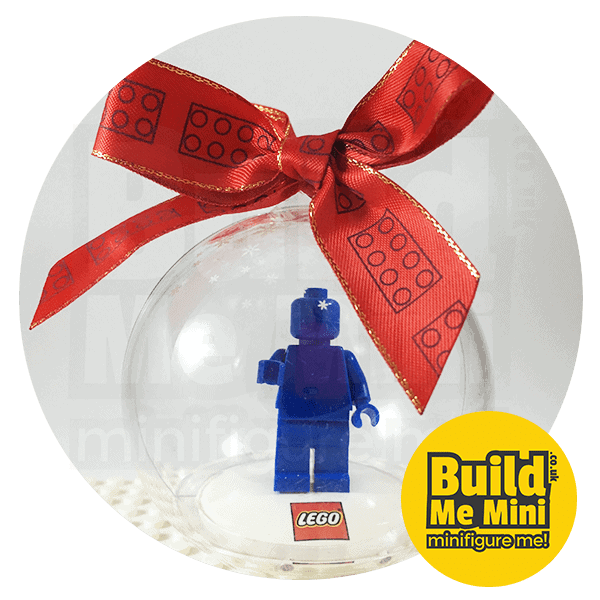 LEGO Premium Christmas Bauble Display for Minifigure