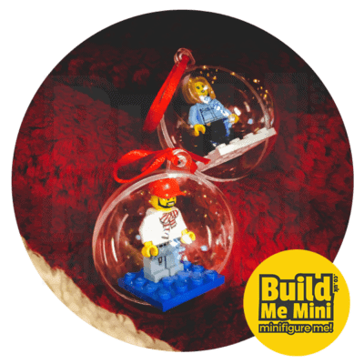 LEGO Minifigure Christmas Tree Bauble Decoration