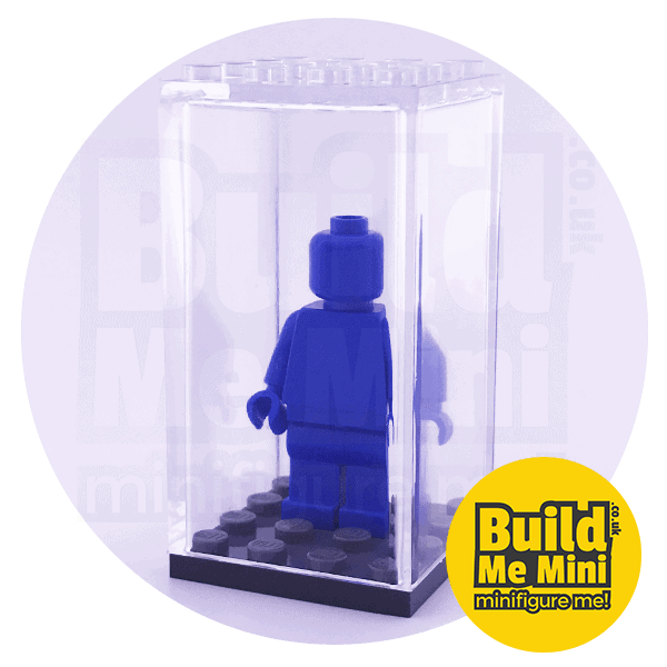 Minifigure Display Box – Many Colours Available