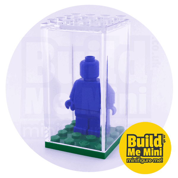 Minifigure Display Box - 9 Colours Available