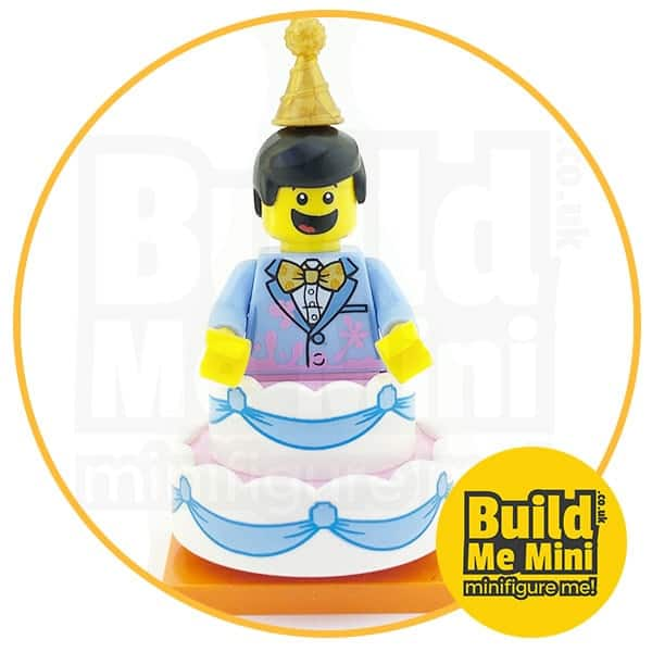 LEGO Series 18 CMF Cake Party Suit Guy Minifigure