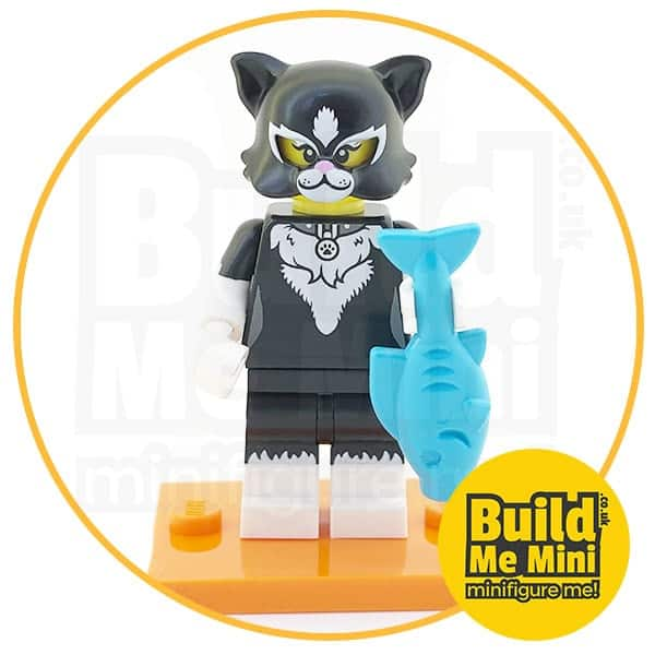 LEGO Series 18 CMF Cat Suit Girl Minifigure