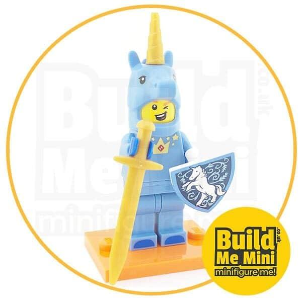 LEGO Series 18 CMF Unicorn Knight Suit Guy Minifigure