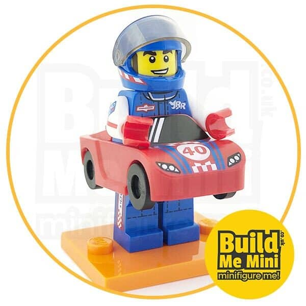 LEGO Series 18 CMF Racing Car Suit Minifigure