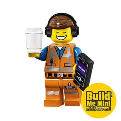 LEGO Movie 2 Minifigures Series Remix Emmet