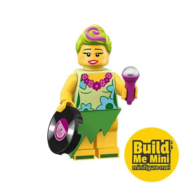 LEGO Movie 2 Minifigures Series Hula Lula