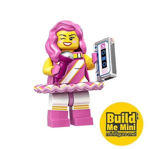 LEGO Movie 2 Minifigures Series Candy Rapper