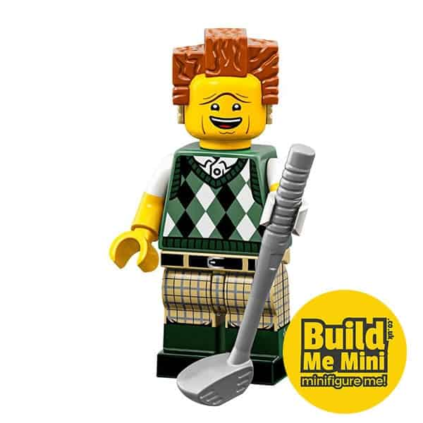 LEGO Movie 2 Minifigures Series Gone Golfing President Business