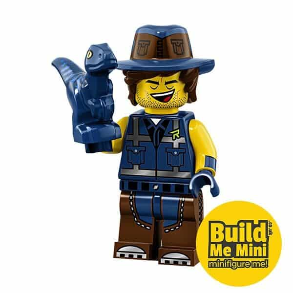 LEGO Movie 2 Minifigures Series Vest Friend Rex Dangervest