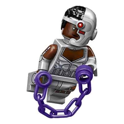 LEGO Minifigure Cyborg – DC Comics Series 1 CMF