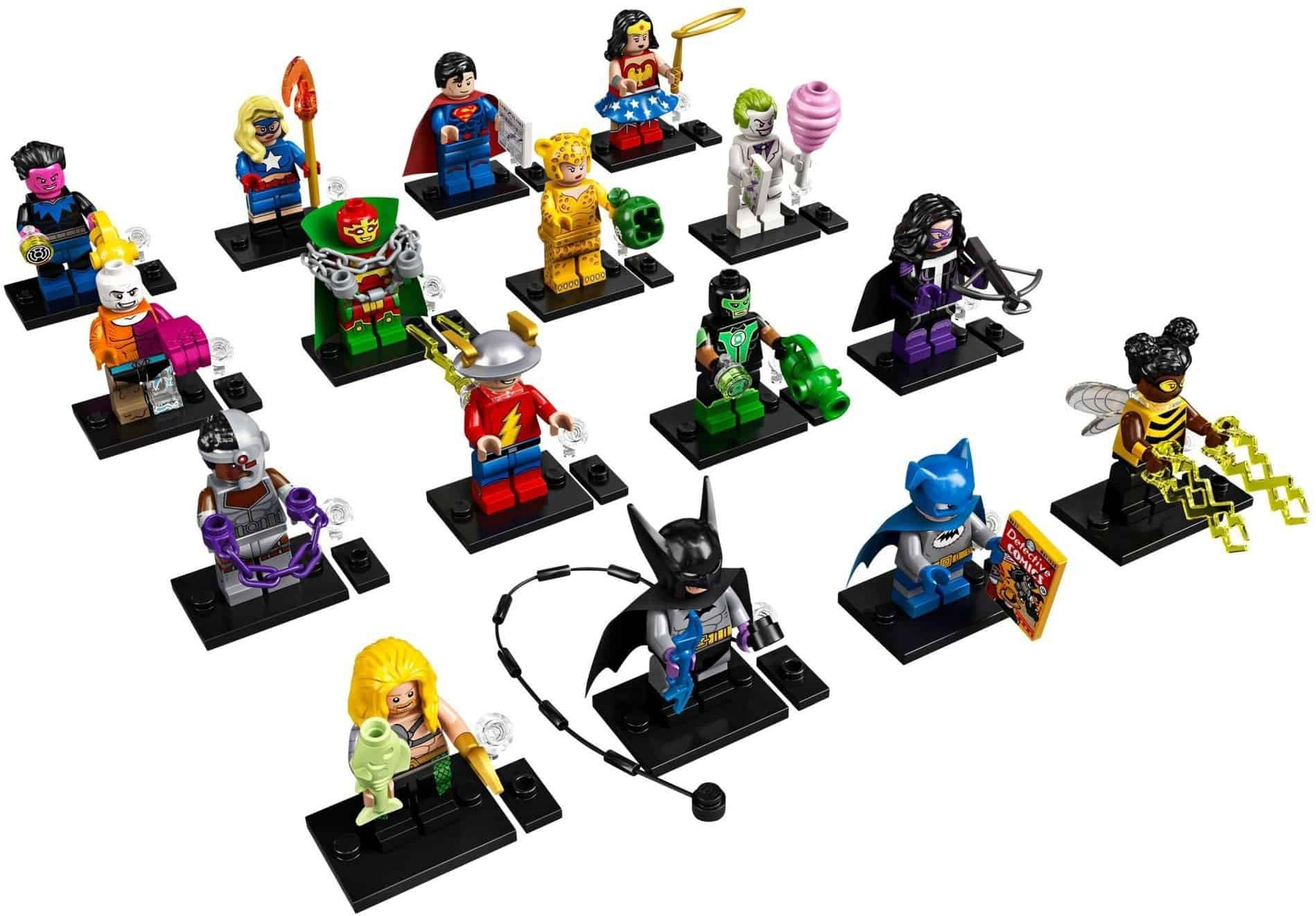LEGO Minifigure Complete Set of DC Comics Series 1 CMF