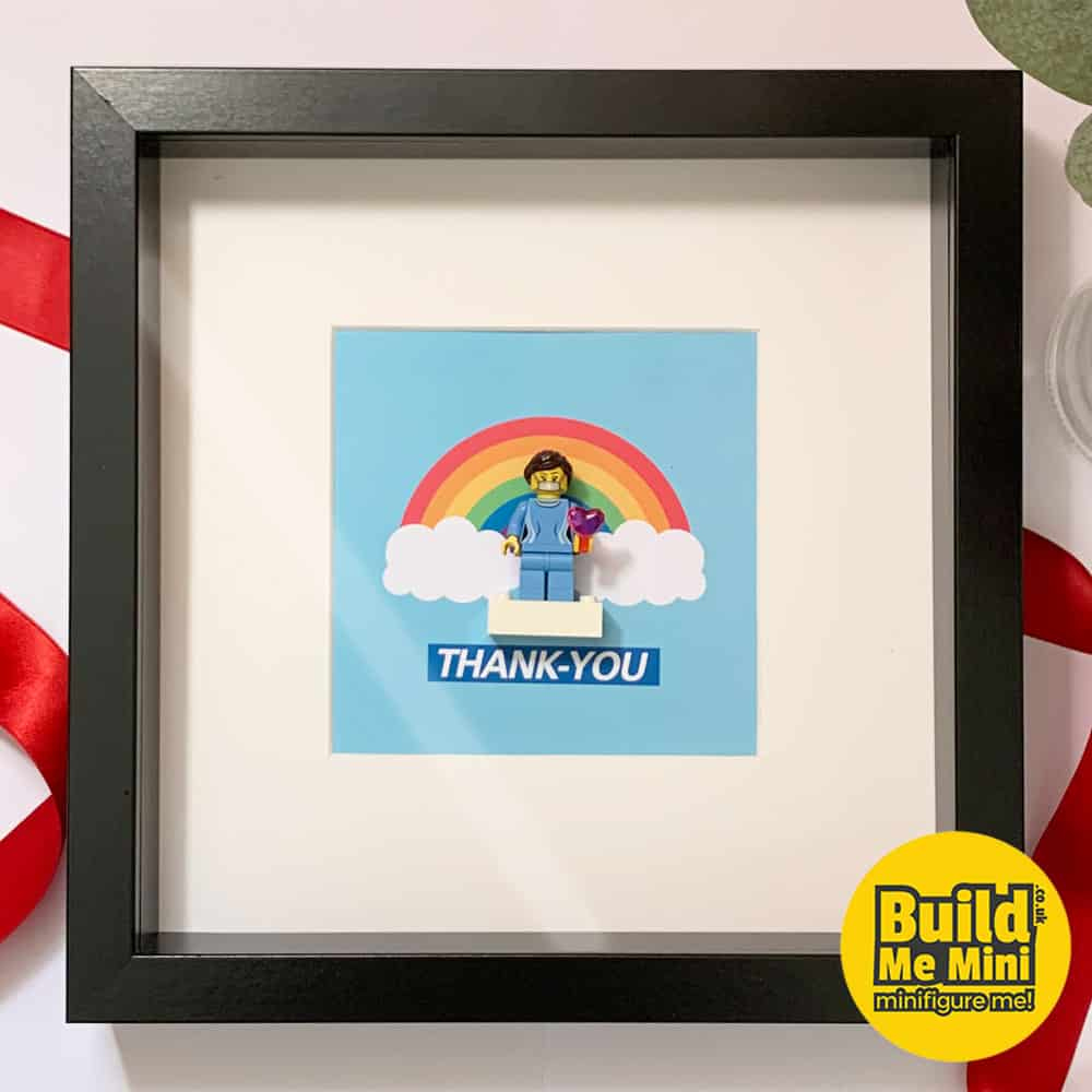 2020 Keyworker Thank-You Gift Minifigure Frame LEGO® Fans