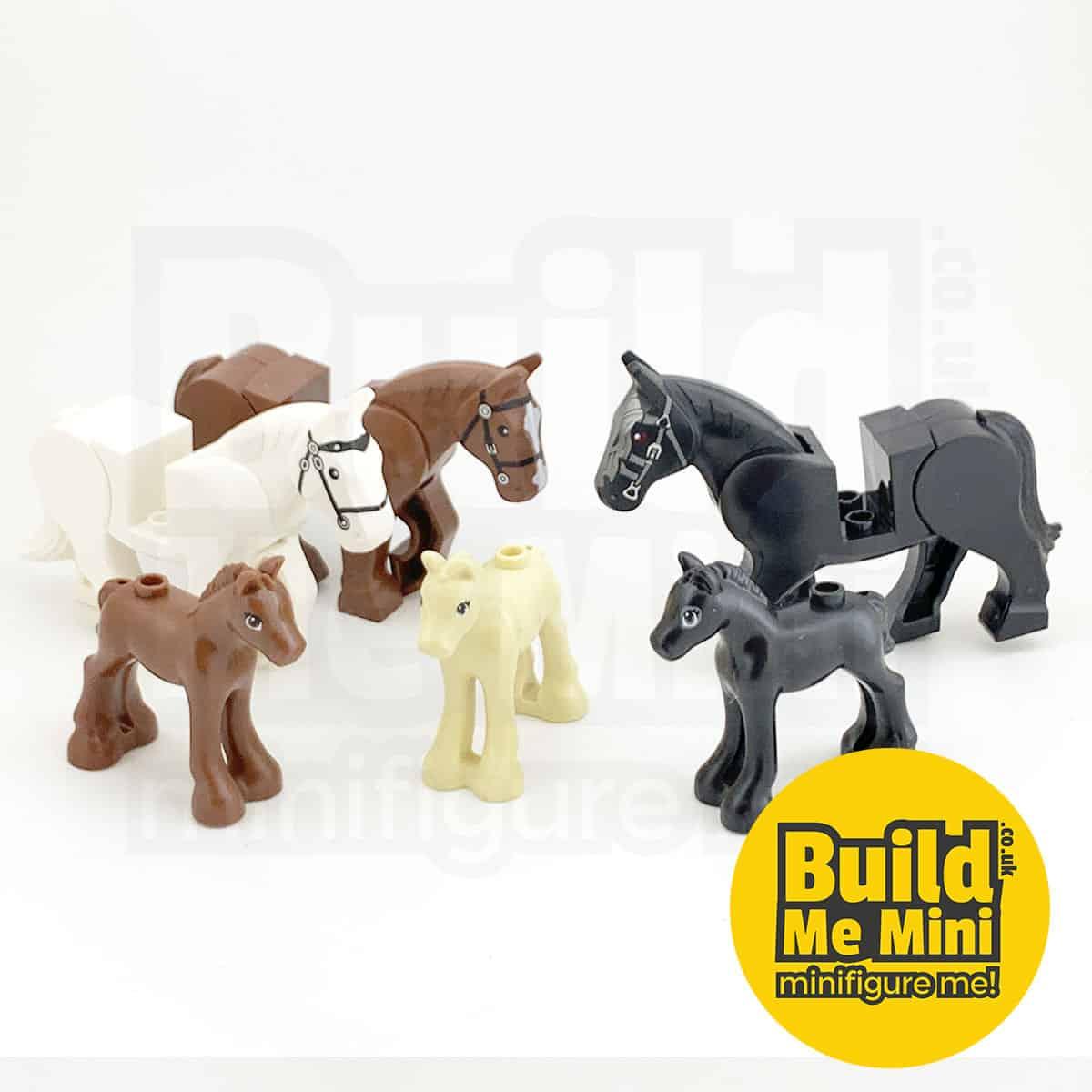 LEGO Minifigure Scale Horse / Pony