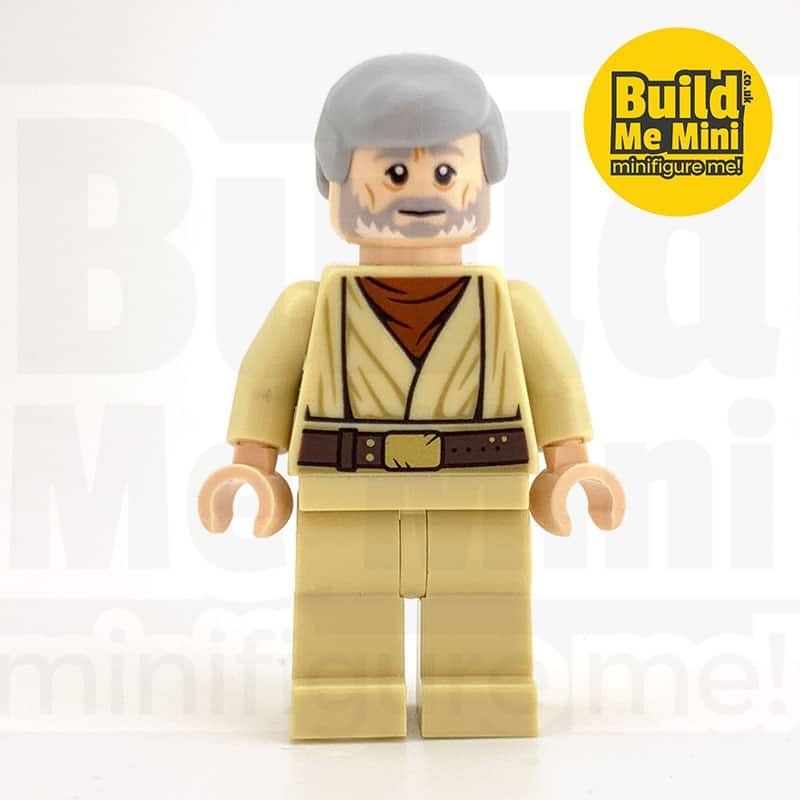 LEGO Star Wars – Obi Wan Kenobi (Old Ben) Minifigure (A New Hope)