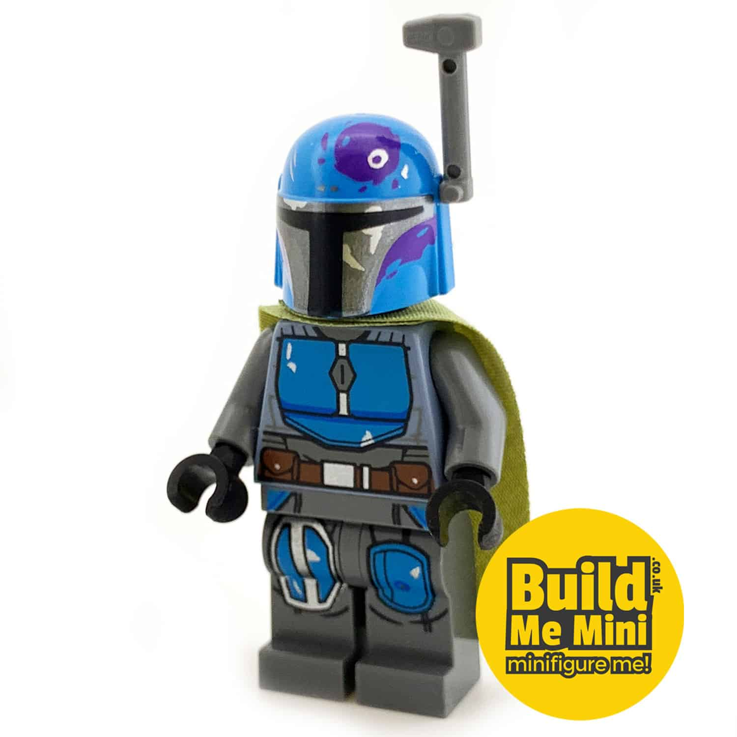 LEGO Star Wars – Mandalorian Armour – Teal Blue, Dark Grey