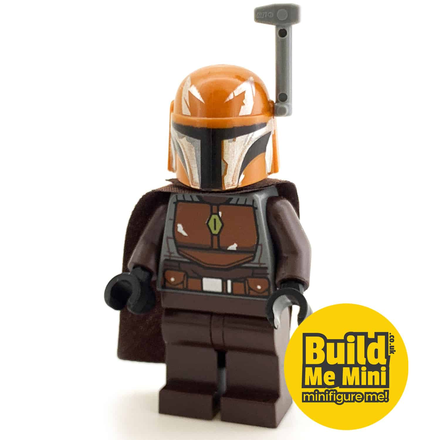 LEGO Star Wars – Mandalorian Armour – Brown, Orange