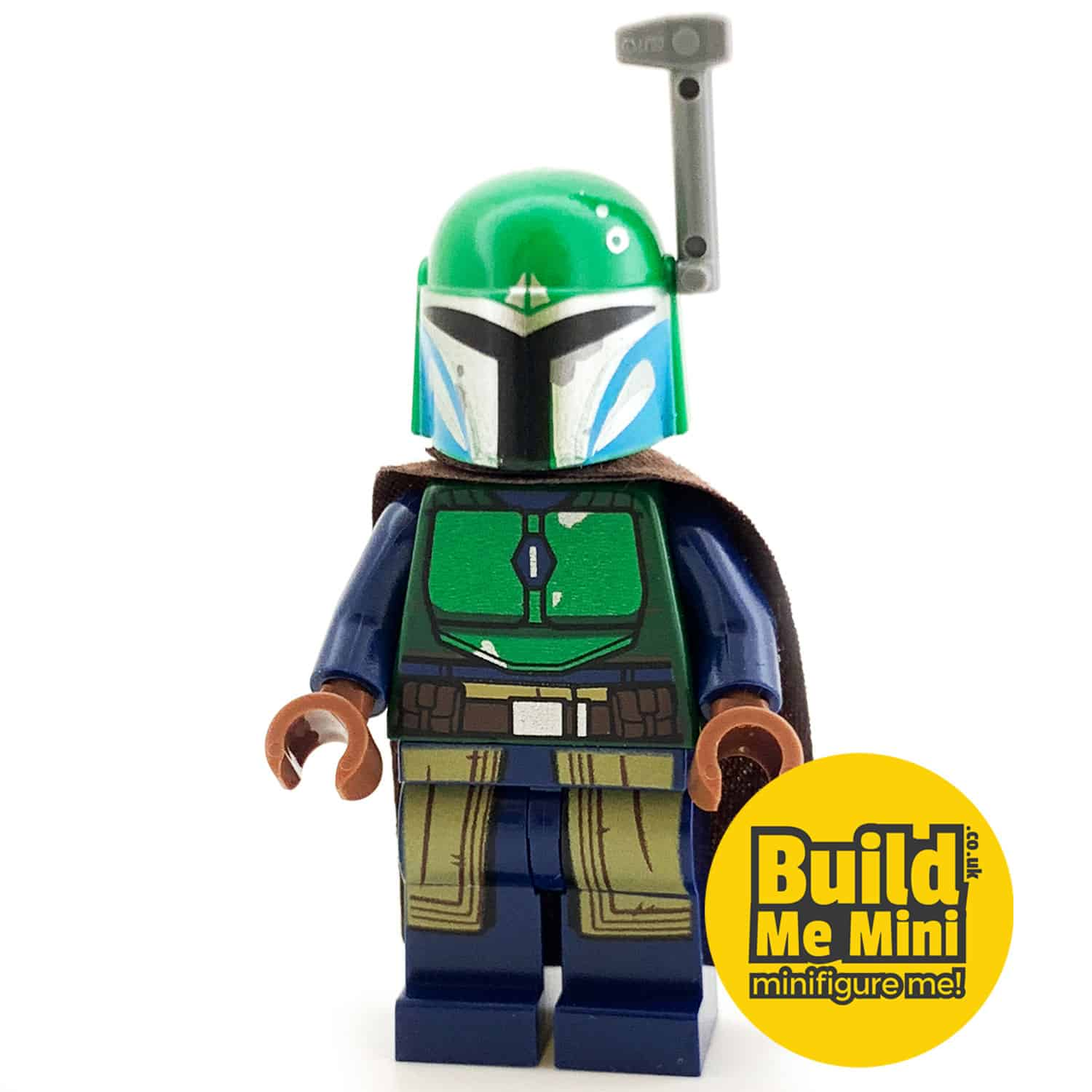 LEGO Star Wars – Mandalorian Armour – Green, Dark Blue