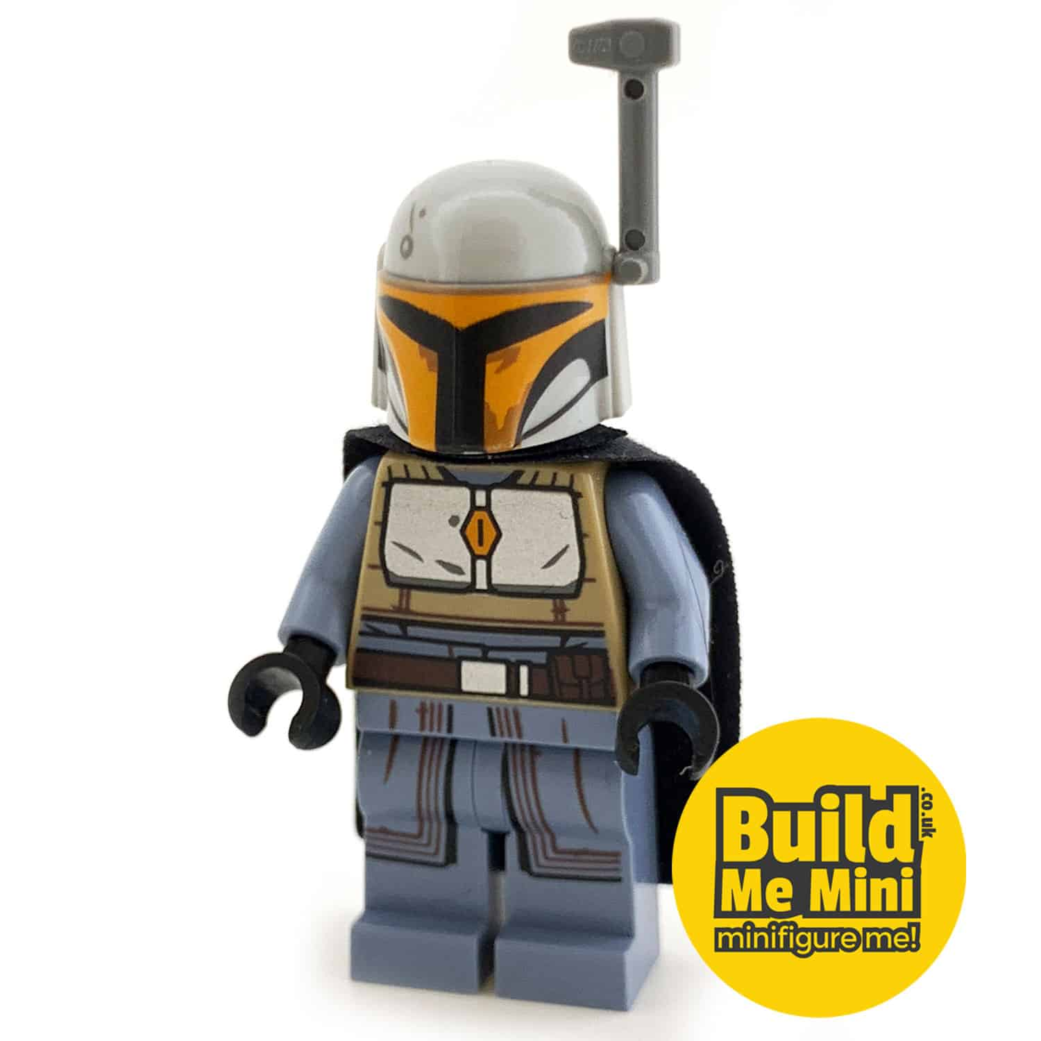 LEGO Star Wars – Mandalorian Armour – Silver, Grey, Orange