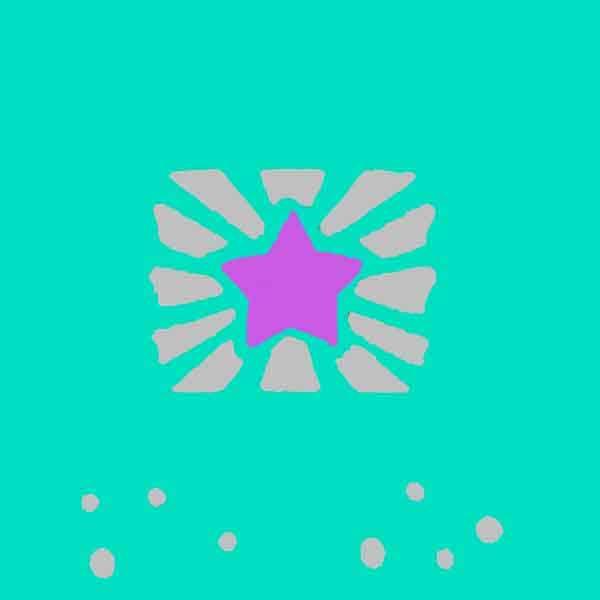 green-teal-star-jumper